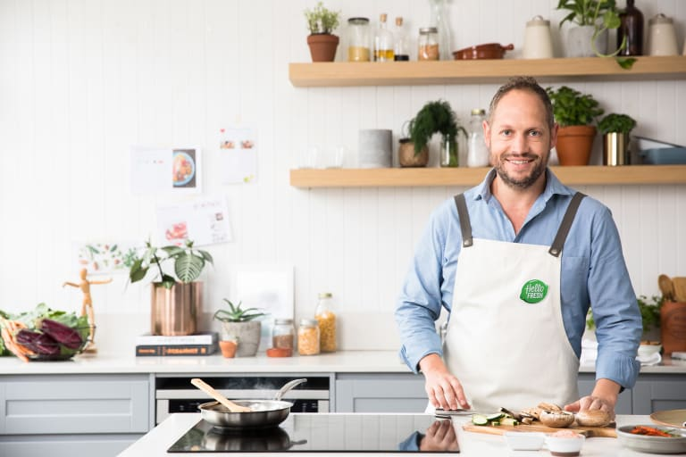 Former MasterChef contestant Tom Rutledge from HelloFresh loves that his business has a food focus.