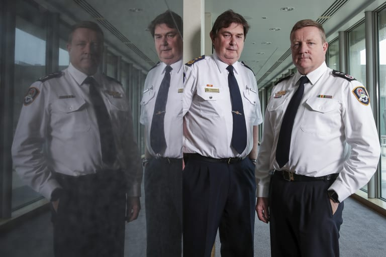ACT Ambulance Service Chief Officer Howard Wren and ACT Emergency Services Agency Commissioner Dominic Lane gave evidence at a Senate inquiry on Wednesday.