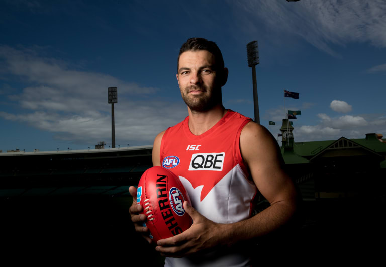 Swan for life: Heath Grundy wants to remain with Sydney for 2019.