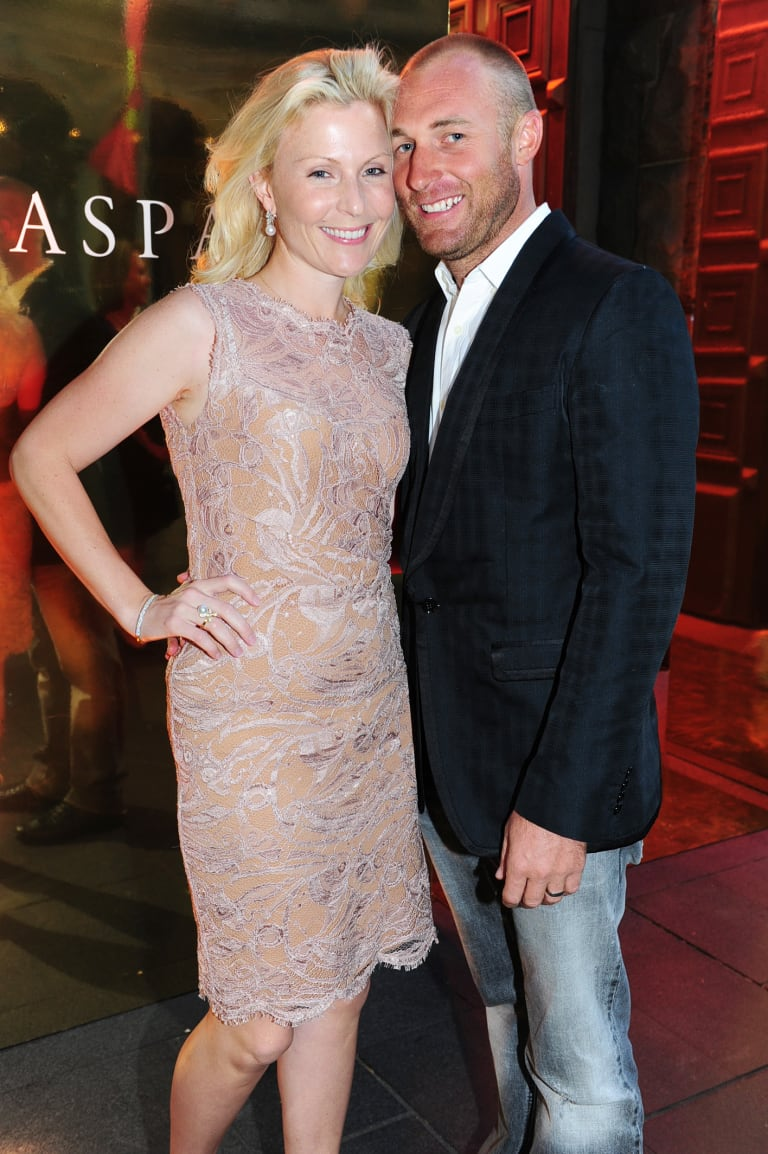 Getting on with life, Nicky Oatley and husband, Troy Tindill, have parted ways.