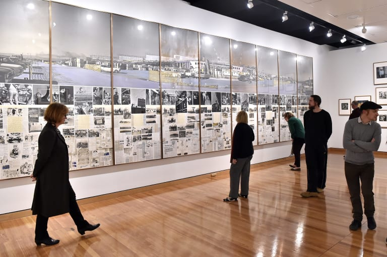 new exhibition showcases art and craft behind parliament house