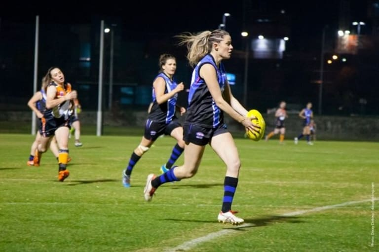 Collingwood used pick No. 19 to select Maddie Shevlin in the draft.