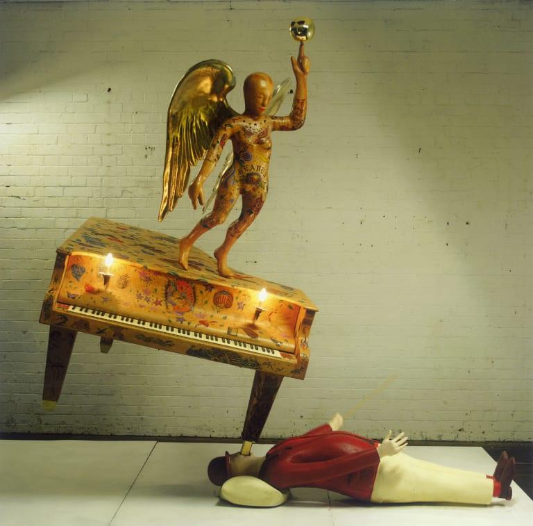 <i>Tattooed Piano</i>, from 2010.