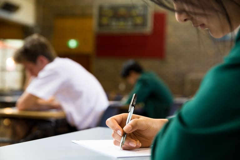 A University of Texas study has shed light on how your outlook can affect academic performance.