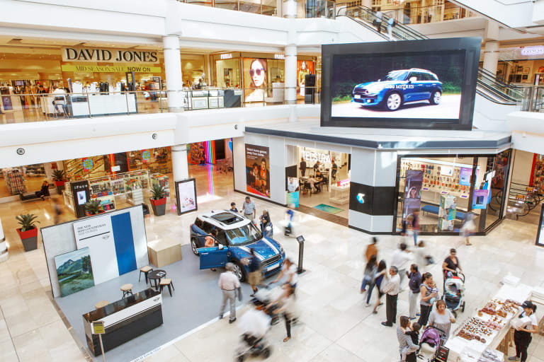 Chatswood Chase is the most popular shopping centre for Chinese travellers.