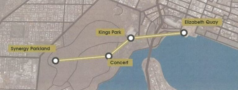 The route suggested by the consultants was intended to spread tourists throughout Kings Park, as currently it's a struggle to get tourists to explore deeper than entrance features.