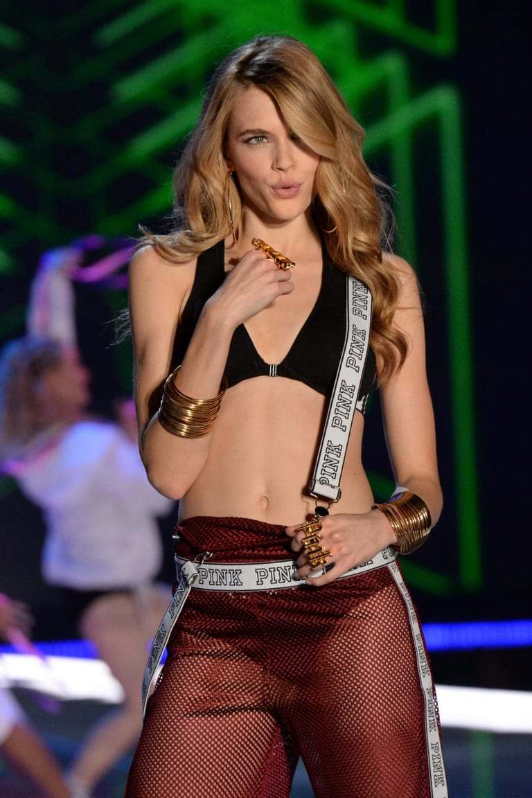 Victoria Lee, pictured in the last Victoria's Secret show, has signed on as an ambassador for David Jones.