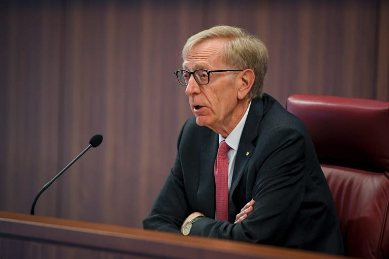 Commissioner  Kenneth Hayne will move on to superannuation on Monday.
