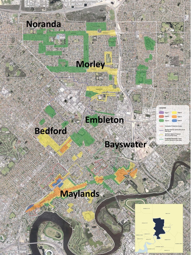 Residents' density recommendations.