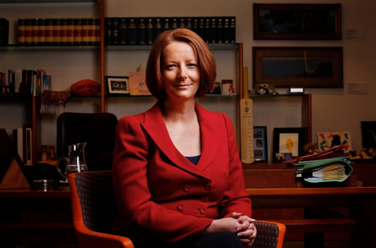 Former prime minister Julia Gillard challenged Kevin Rudd for the prime ministership in 2010.