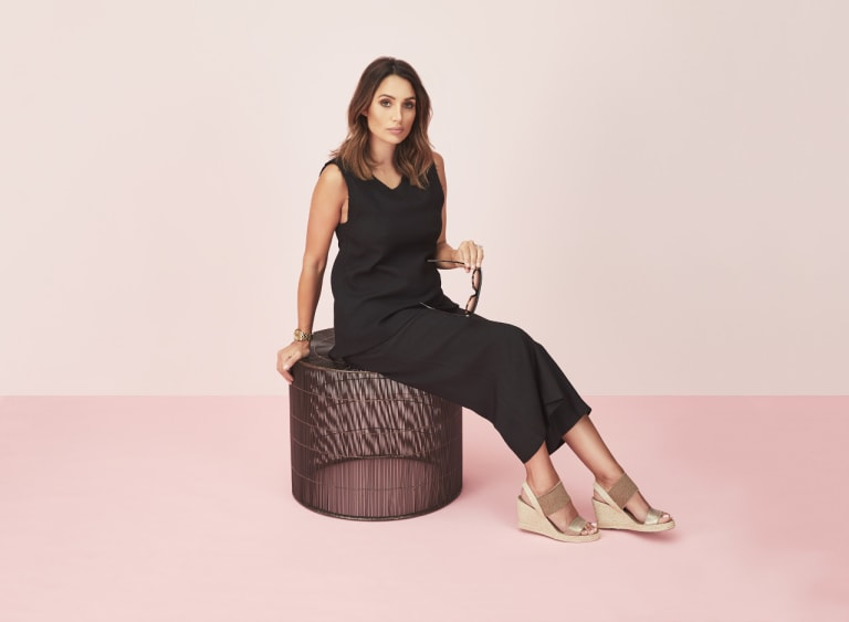 Snezana Markoski is the face of Edward Meller, which is having a warehouse sale.