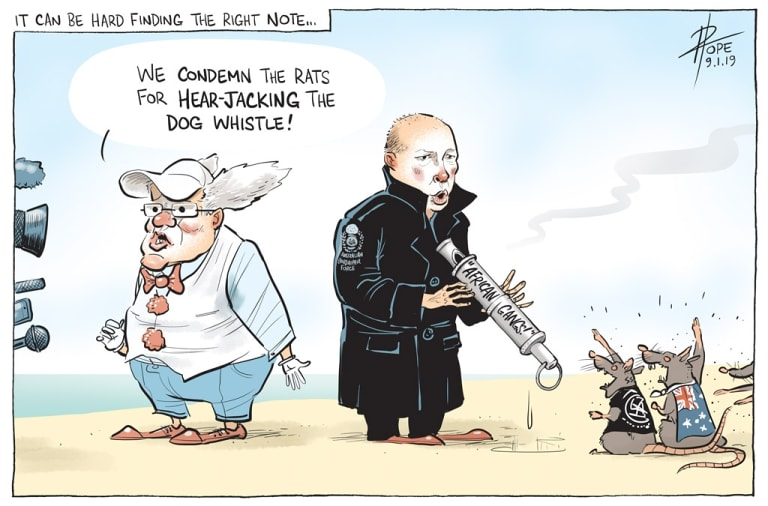 The Canberra Times editorial cartoon for Wednesday, January 9, 2019.