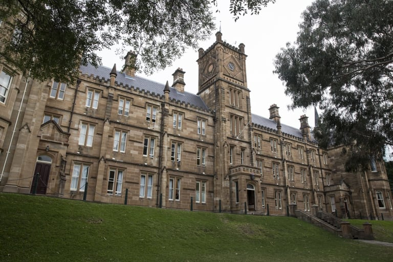 St Andrew's College at the University of Sydney.