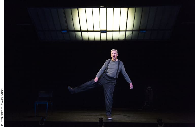 Barry McGovern expertly brings to life Samuel Beckett's enigmatic character Watt.