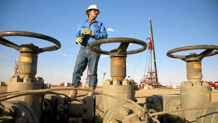 Analysts expect that for ever $US5 increase in the oil price, Santos's share increase by around 42 cents.