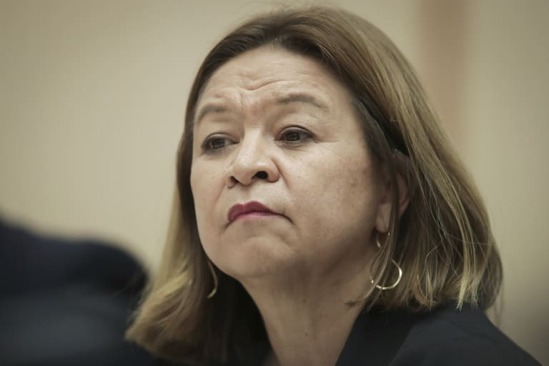ABC managing director Michelle Guthrie faces negotiations with the government over a $43 million news fund.