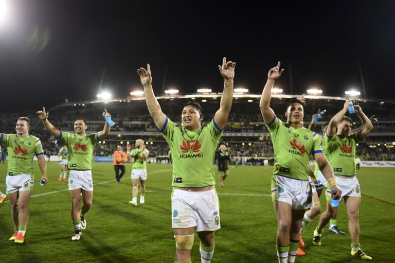 The Raiders will play against Penrith when they move a home game to Wagga on May 4.