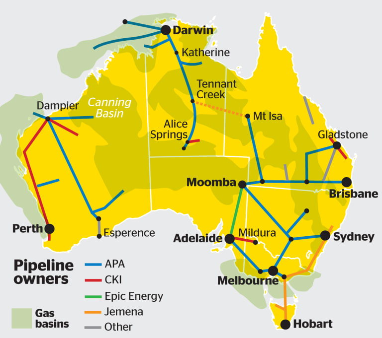 CKI would divest APA's West Australian pipelines if the deal were to receive Foreign Investment Review Board approvals.