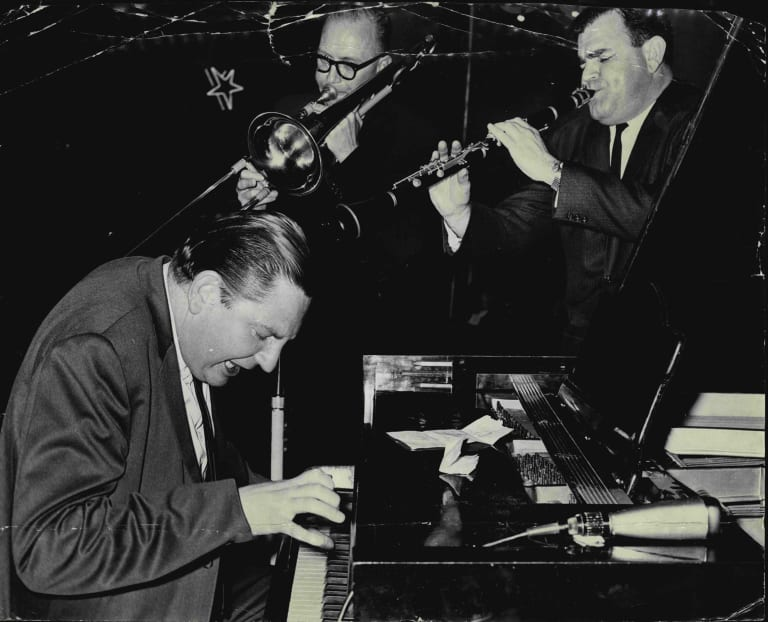 Dick Hughes and his Chosen 3. October 10, 1963.