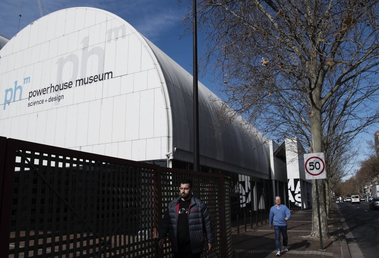 The Powerhouse Museum, which will be moved to Parramatta.