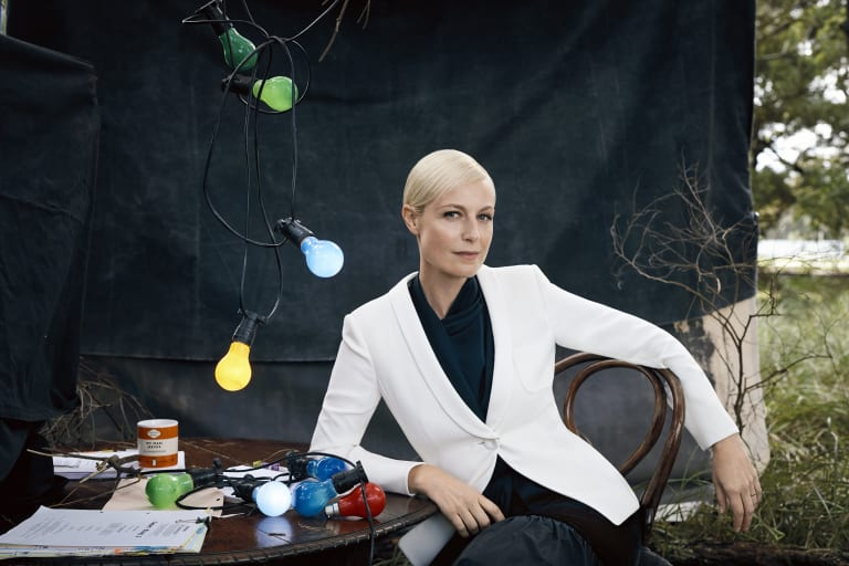Same size: Marta Dusseldorp is set to play Catherine McGregor in an upcoming television project.