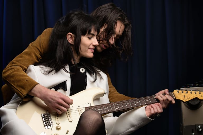 """The Preatures' Isabella Manfredi said Sydney's music scene was 'a laughing storck""""."""