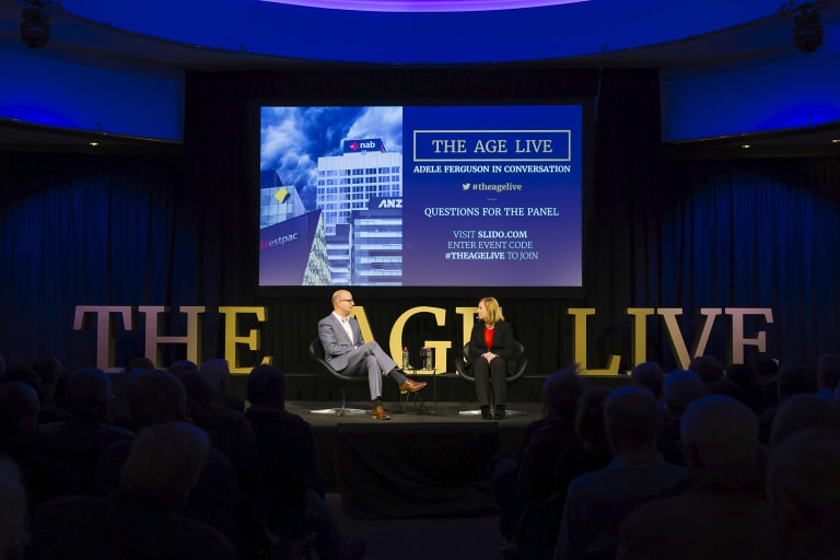 The Age Live: Adele Ferguson in conversation