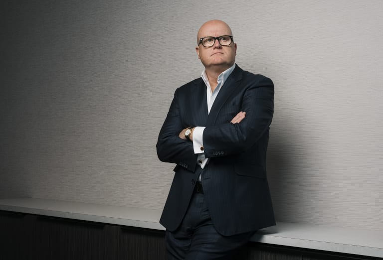 """Peter O'Brien managing director of Russell Reynolds says """"softer"""" personality traits are becoming more important in assessing people on their performance."""