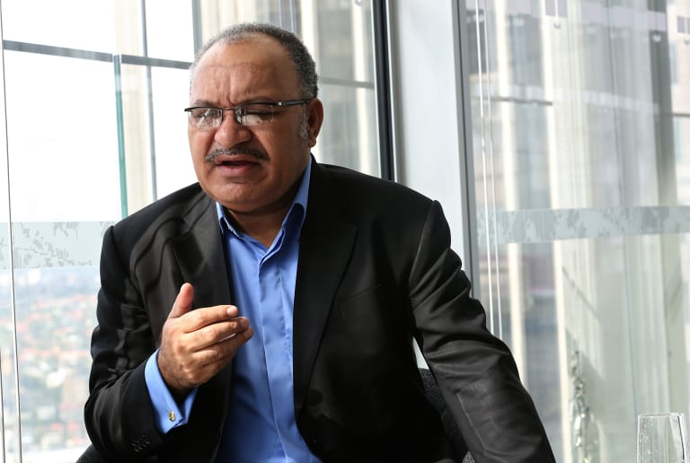 PNG Prime Minister Peter O'Neill dismissed claims of growing unrest in the PNG LNG project's region as 'fake news'.