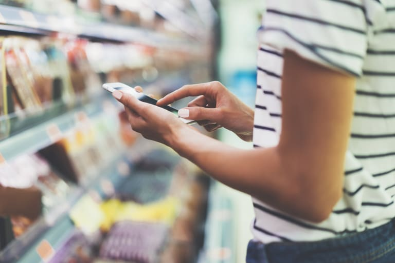 Technology can help people recovering from an eating disorder feel more confident at the supermarket.