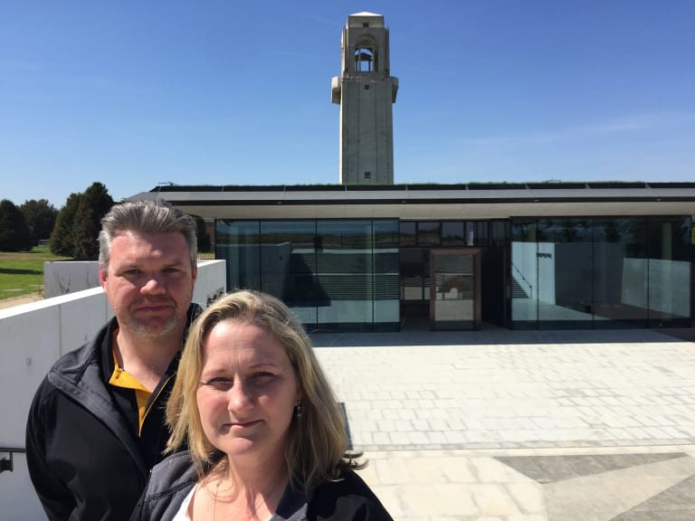 Canberra couple Wade and Caroline Bartlett have seen the centre through from start to finish.
