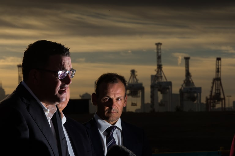 Daniel Andrews says Infrastructure Australia's list of 'priority' projects is unfair to Victoria.