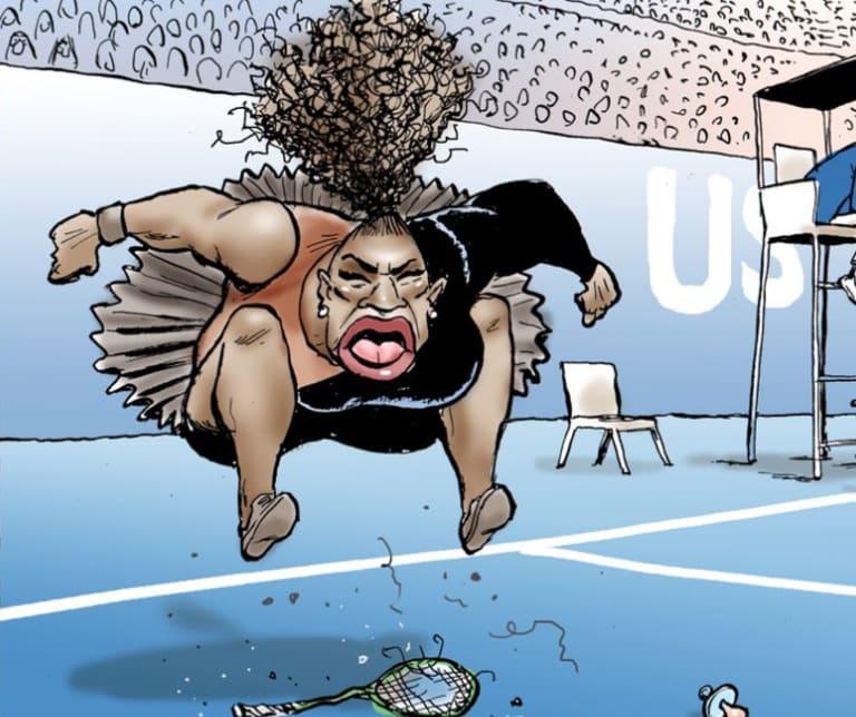Detail from Mark Knight's cartoon in the Herald Sun.