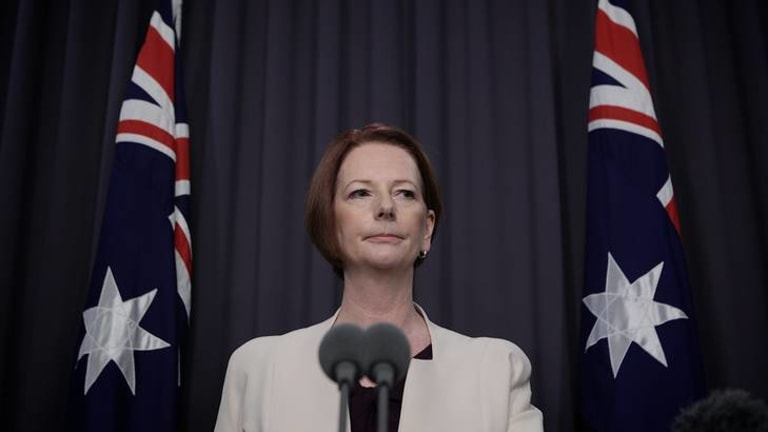 Then Prime Minister Julia Gillard pledged a crackdown on sports gambling advertising in 2013