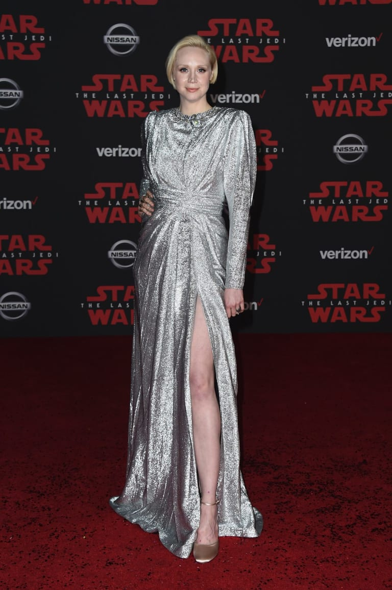 Gwendoline Christie at the Los Angeles premiere of