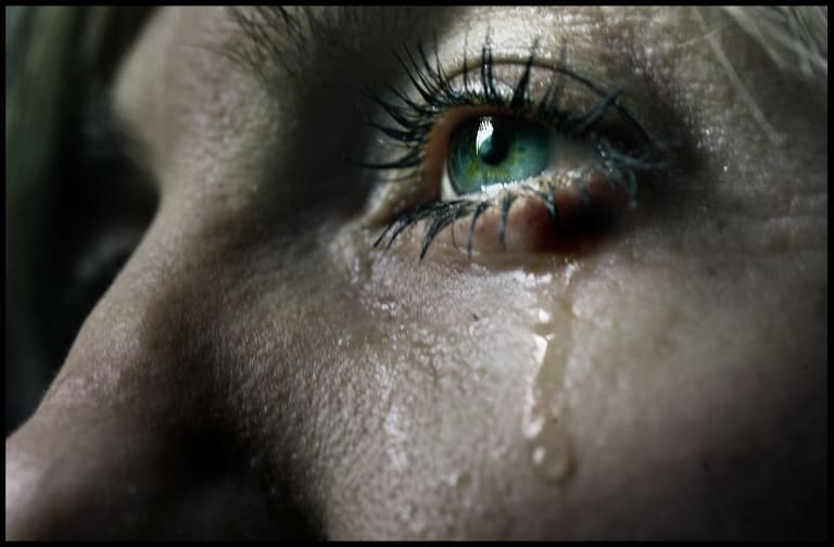 Crying often makes the most stoic people uncomfortable.