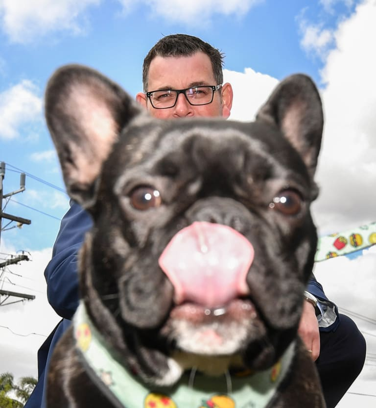 Every dog has his day: Premier Daniel Andrews announces more off-leash parks.