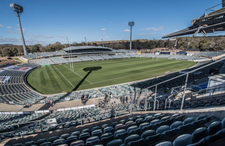 Canberra Stadium is nearing the end of its lifespan.