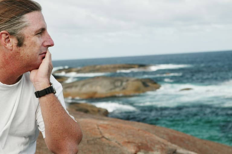 WA author Tim Winton is renowned for showcasing the state's coastal towns in his works.