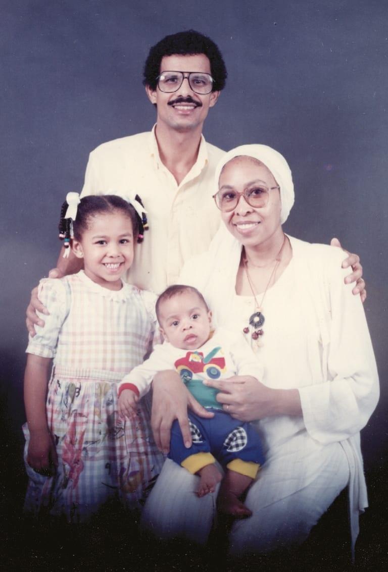A 1995 family portrait.