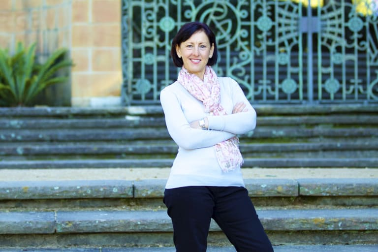 Nutritionist Angela Emmerton is quite happy her career doesn't involve the fast-paced life of a chef.