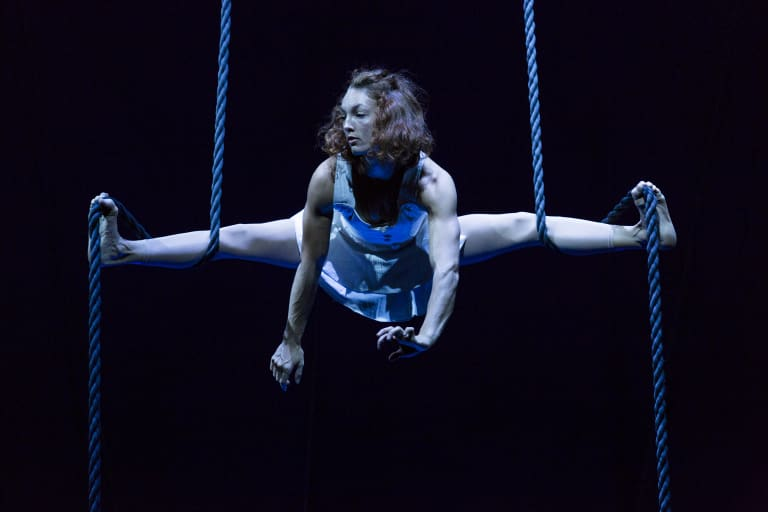 Circus show <i>Lexicon</I> is a two-hour frenzy of strength, skill and humour.