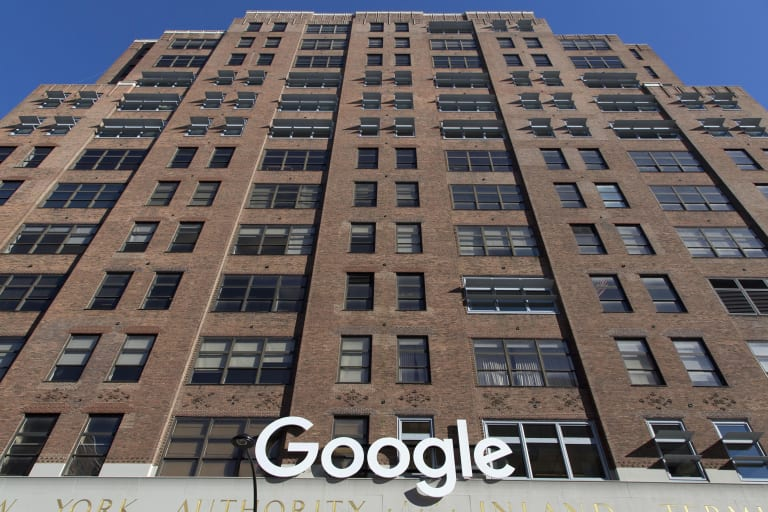 Google's New York offices.