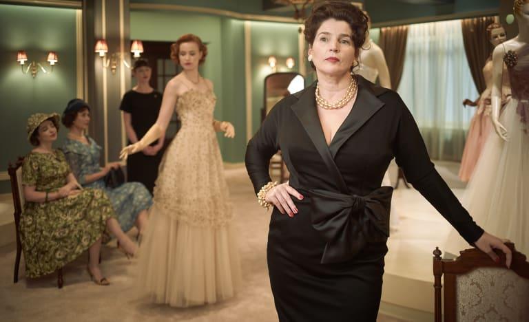 Julia Ormond as Magda Szombatheli, one of Bruce Beresford's Ladies In Black about to be immortalised on the silver screen.