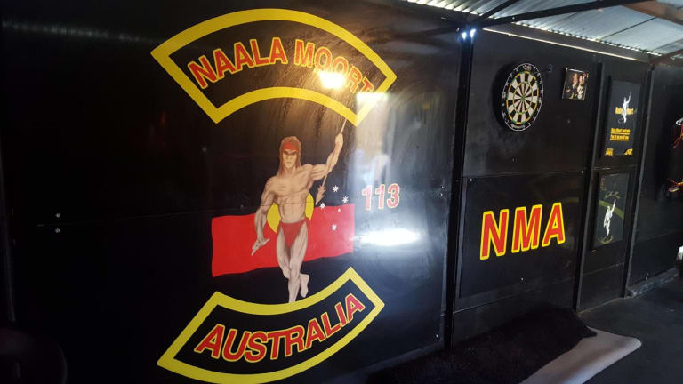 The Midland Naala Moort clubhouse was raided by police in February.