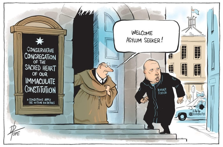 TheCanberra Times cartoon for Monday, September 17, 2018.