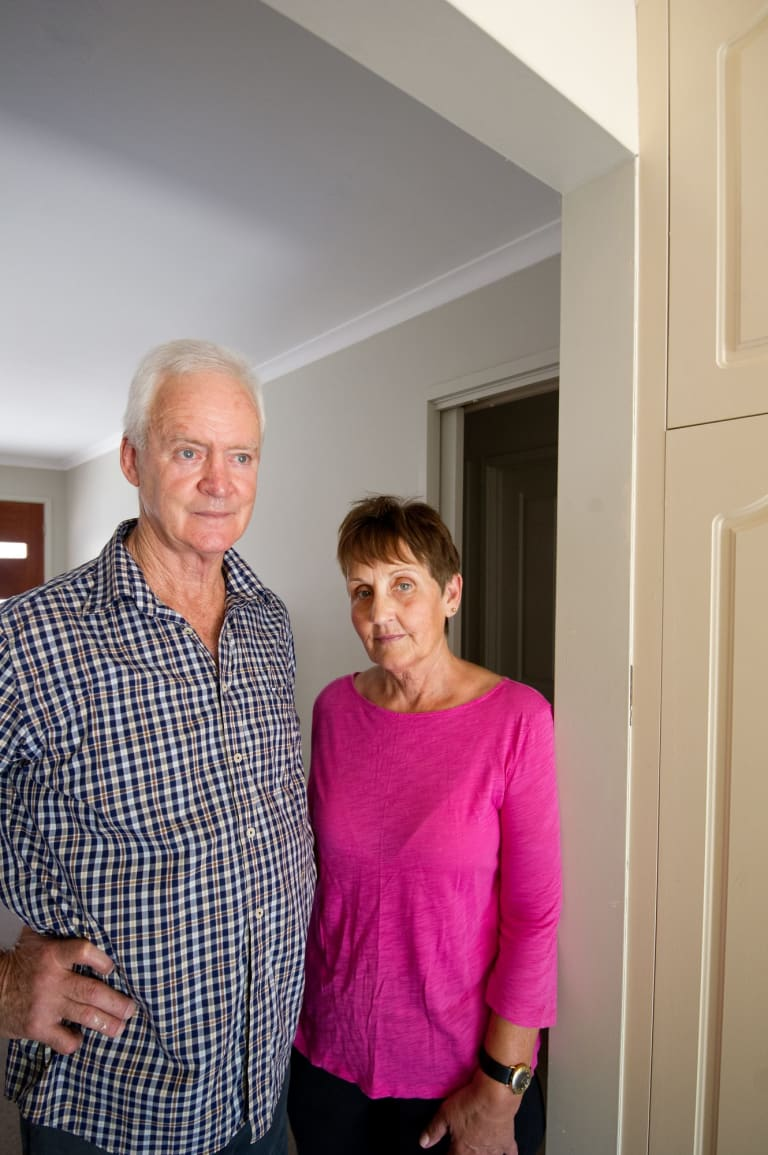 Mildura plasterer Jim Barker and his wife Debbie were the first to raise the alarm - in 2007.
