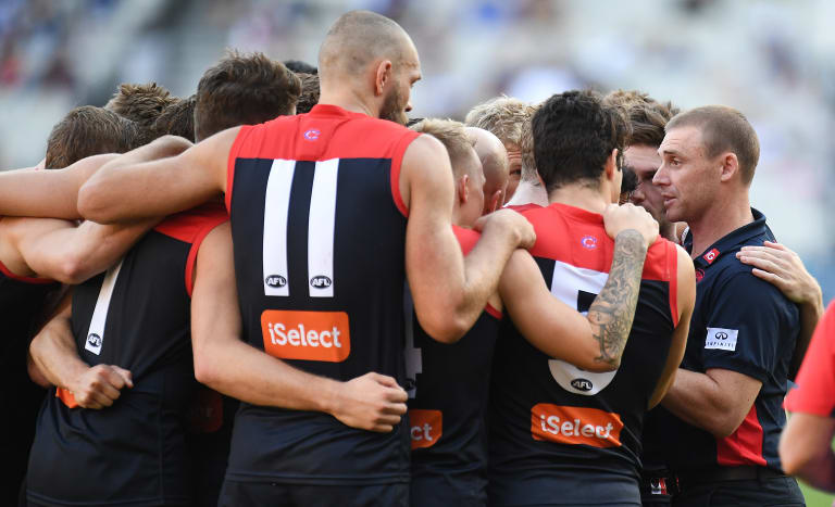 Simon Goodwin and the Demons have not lived up to expectation this year.