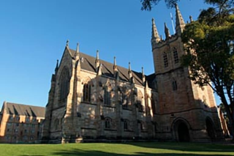 St John's College, at the University of Sydney.