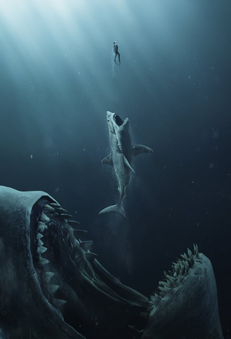 <i>The Meg</i> is like <i>Jaws</i>, only a lot more so.